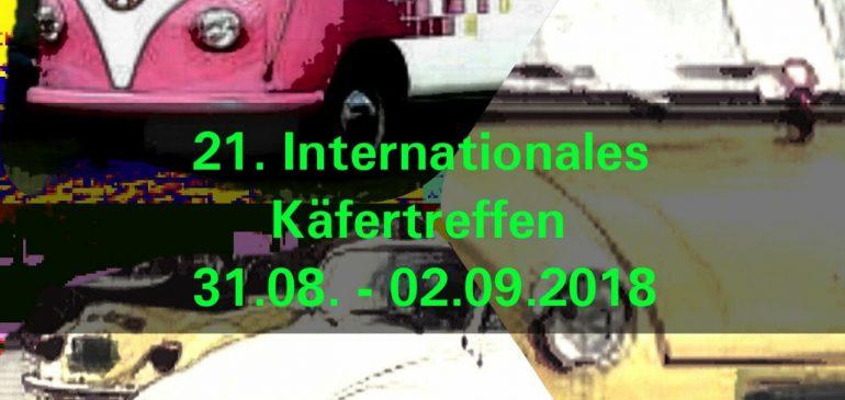 Infos Käfertreffen 2018